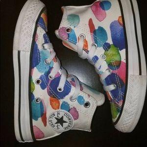 Converse watercolor   girls  chucks size12